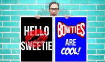 Doctor Who River Song Hello Sweetie and Bow ties are cool set of 2 Art - Wall Art Print Poster Pick A Size - Tv Art Geekery